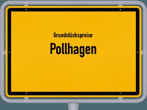 Grundstückspreise Pollhagen 2019