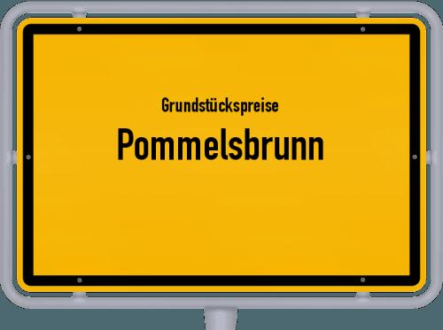 Grundstückspreise Pommelsbrunn 2019