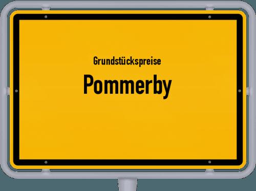 Grundstückspreise Pommerby 2021
