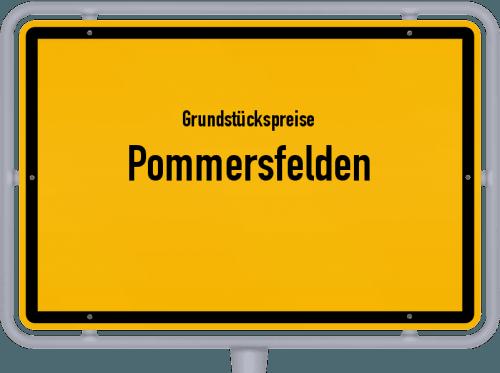 Grundstückspreise Pommersfelden 2019