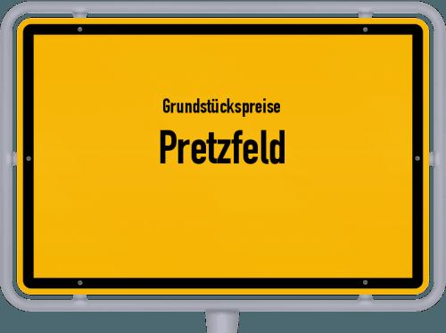 Grundstückspreise Pretzfeld 2019