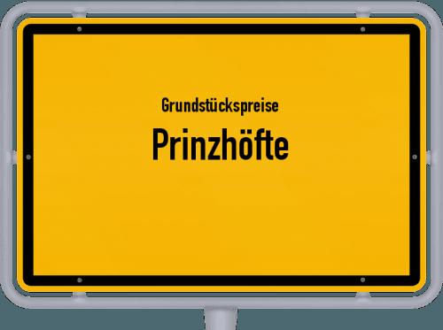 Grundstückspreise Prinzhöfte 2021