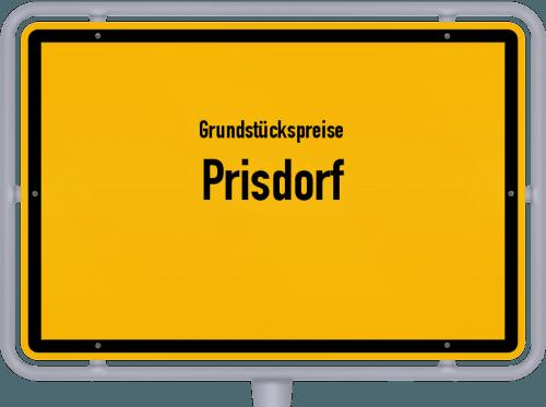 Grundstückspreise Prisdorf 2021