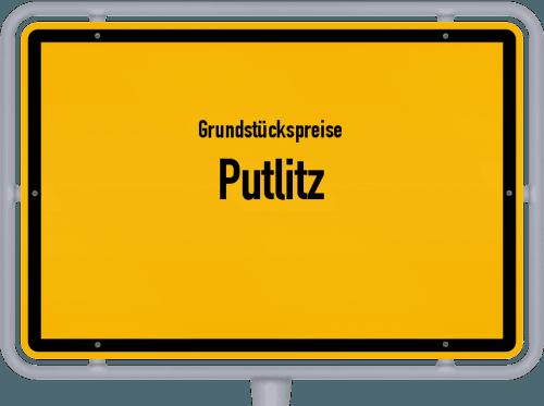 Grundstückspreise Putlitz 2021