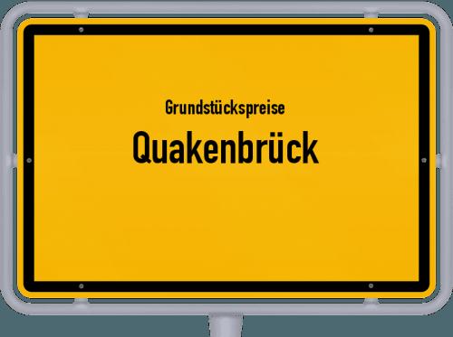 Grundstückspreise Quakenbrück 2021
