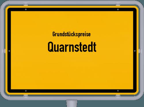 Grundstückspreise Quarnstedt 2021