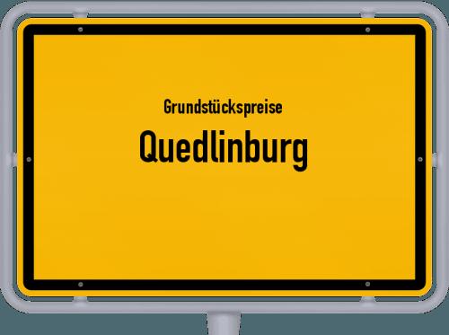 Grundstückspreise Quedlinburg 2021