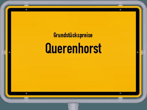 Grundstückspreise Querenhorst 2021