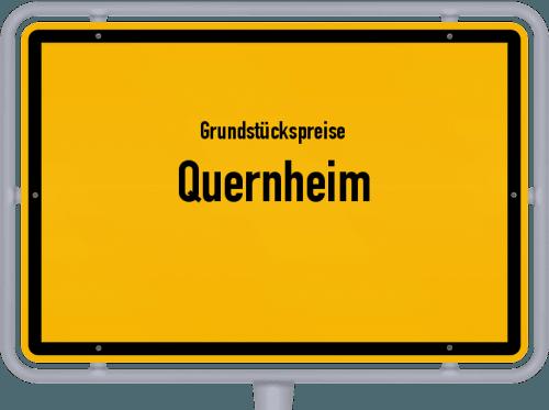 Grundstückspreise Quernheim 2021