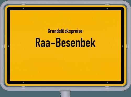 Grundstückspreise Raa-Besenbek 2021