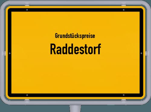 Grundstückspreise Raddestorf 2021