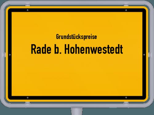 Grundstückspreise Rade b. Hohenwestedt 2021