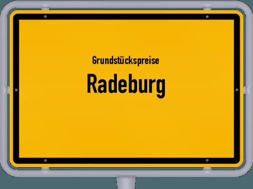 Grundstückspreise Radeburg 2019