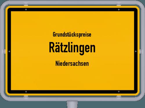 Grundstückspreise Rätzlingen (Niedersachsen) 2019