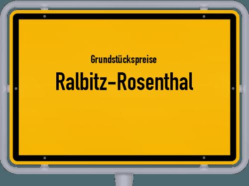 Grundstückspreise Ralbitz-Rosenthal 2019