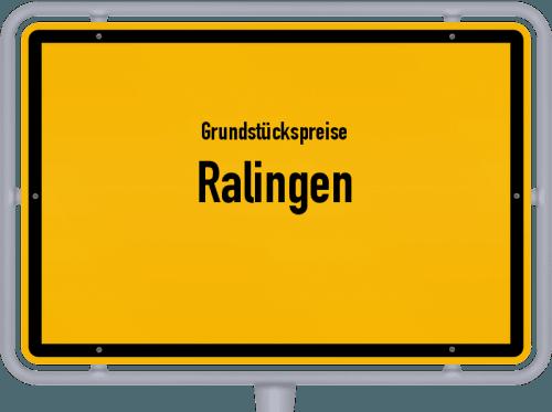 Grundstückspreise Ralingen 2019