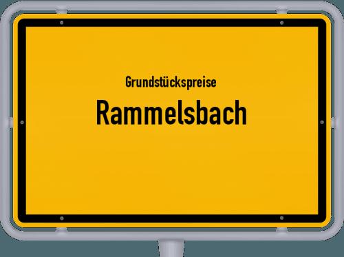 Grundstückspreise Rammelsbach 2019