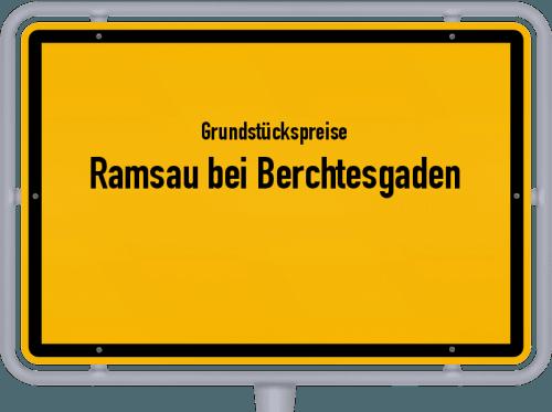 Grundstückspreise Ramsau bei Berchtesgaden 2021