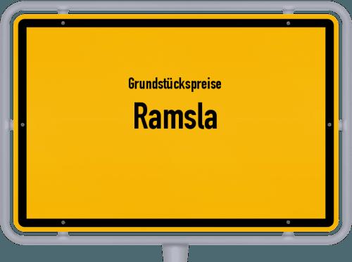 Grundstückspreise Ramsla 2019