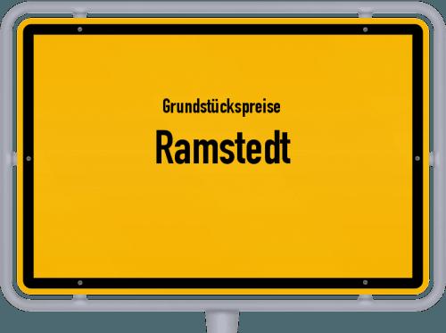 Grundstückspreise Ramstedt 2021
