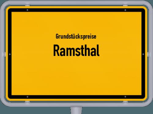Grundstückspreise Ramsthal 2021