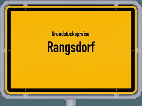 Grundstückspreise Rangsdorf 2021