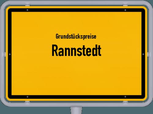 Grundstückspreise Rannstedt 2019