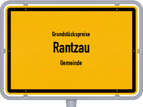 Grundstückspreise Rantzau (Gemeinde) 2021