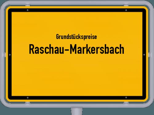 Grundstückspreise Raschau-Markersbach 2019