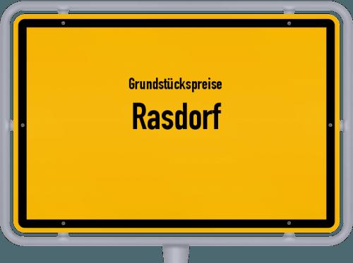 Grundstückspreise Rasdorf 2018