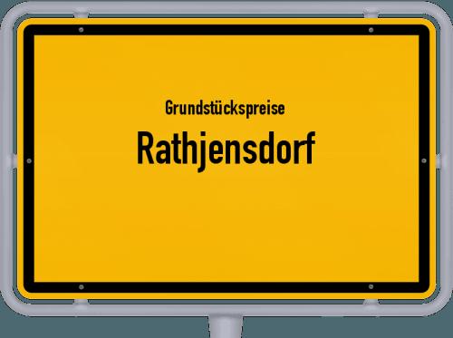 Grundstückspreise Rathjensdorf 2021