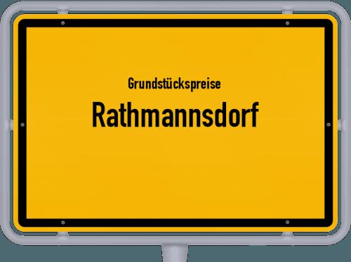 Grundstückspreise Rathmannsdorf 2019