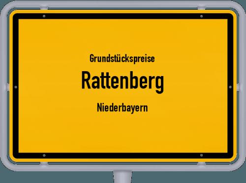 Grundstückspreise Rattenberg (Niederbayern) 2019