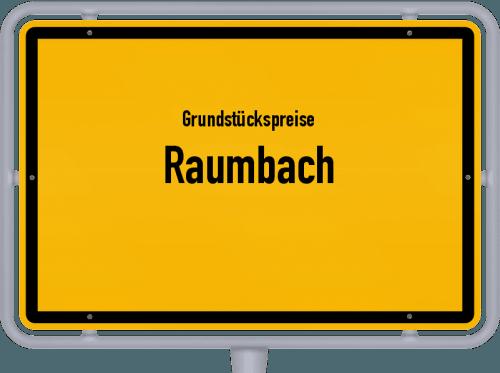 Grundstückspreise Raumbach 2019