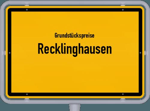 Grundstückspreise Recklinghausen 2020
