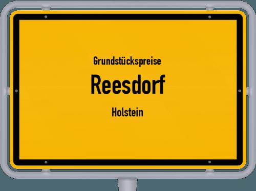 Grundstückspreise Reesdorf (Holstein) 2021