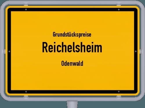 Grundstückspreise Reichelsheim (Odenwald) 2020