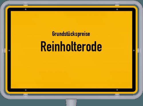 Grundstückspreise Reinholterode 2019