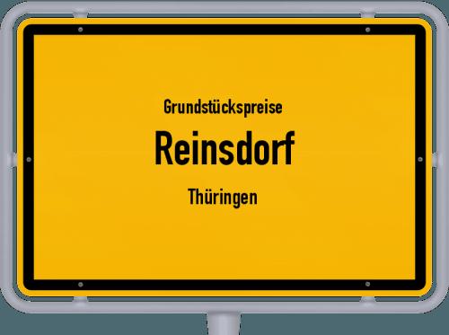 Grundstückspreise Reinsdorf (Thüringen) 2019