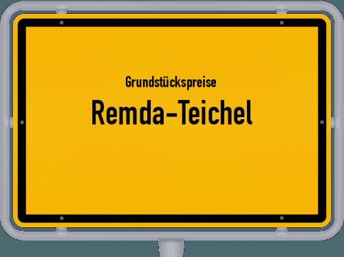 Grundstückspreise Remda-Teichel 2018