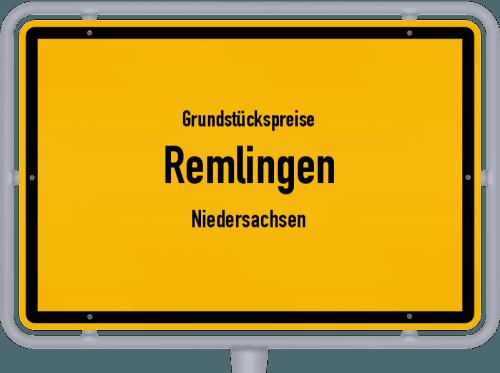 Grundstückspreise Remlingen (Niedersachsen) 2021