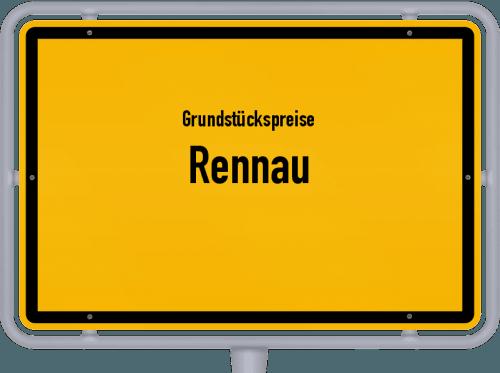 Grundstückspreise Rennau 2019