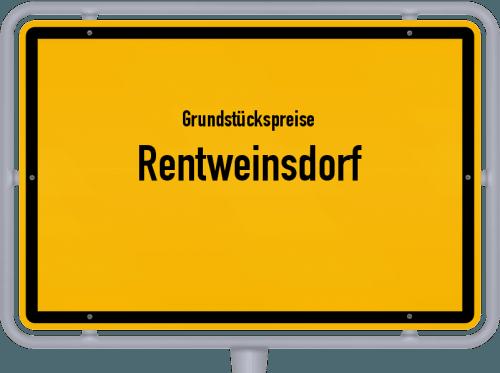 Grundstückspreise Rentweinsdorf 2021
