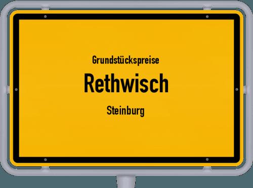 Grundstückspreise Rethwisch (Steinburg) 2021