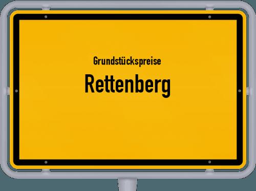 Grundstückspreise Rettenberg 2019