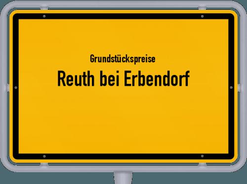 Grundstückspreise Reuth bei Erbendorf 2019
