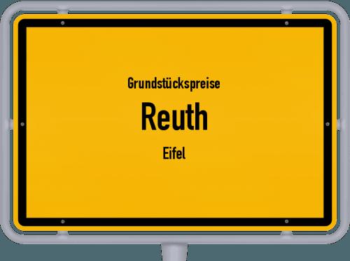 Grundstückspreise Reuth (Eifel) 2019