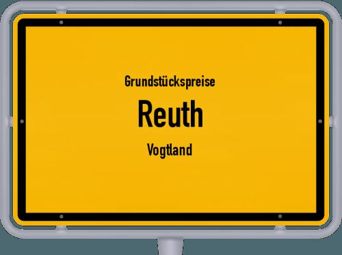 Grundstückspreise Reuth (Vogtland) 2019
