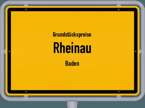 Grundstückspreise Rheinau (Baden) 2021
