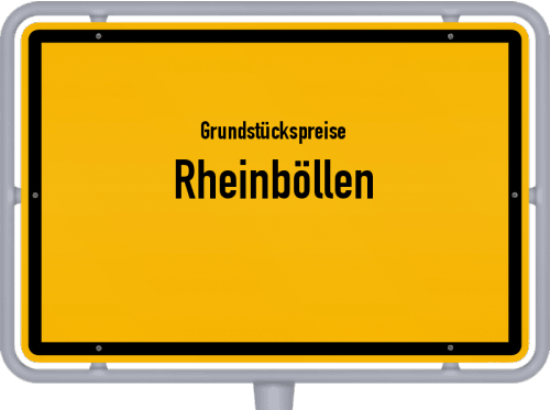 Grundstückspreise Rheinböllen 2019